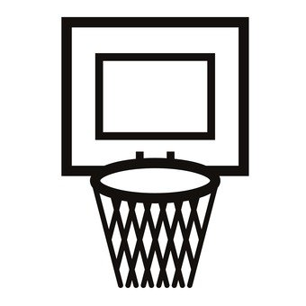 340x340 Free Silhouette Vector Basketball, Sports