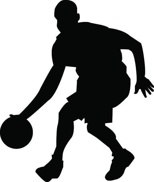 539x639 Basketball Player Svg Basketball Player Silhouette Svg