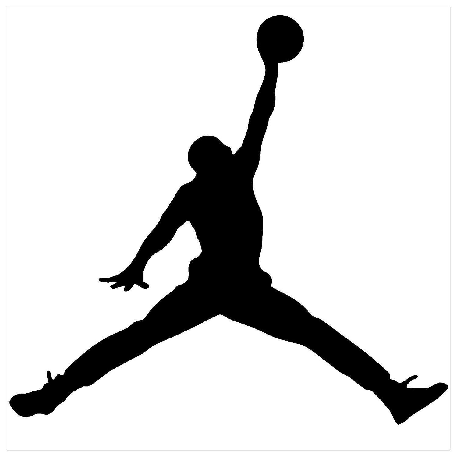Basketball Player Silhouette Logo