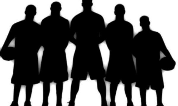 600x360 Clipart Kids Basketball Team
