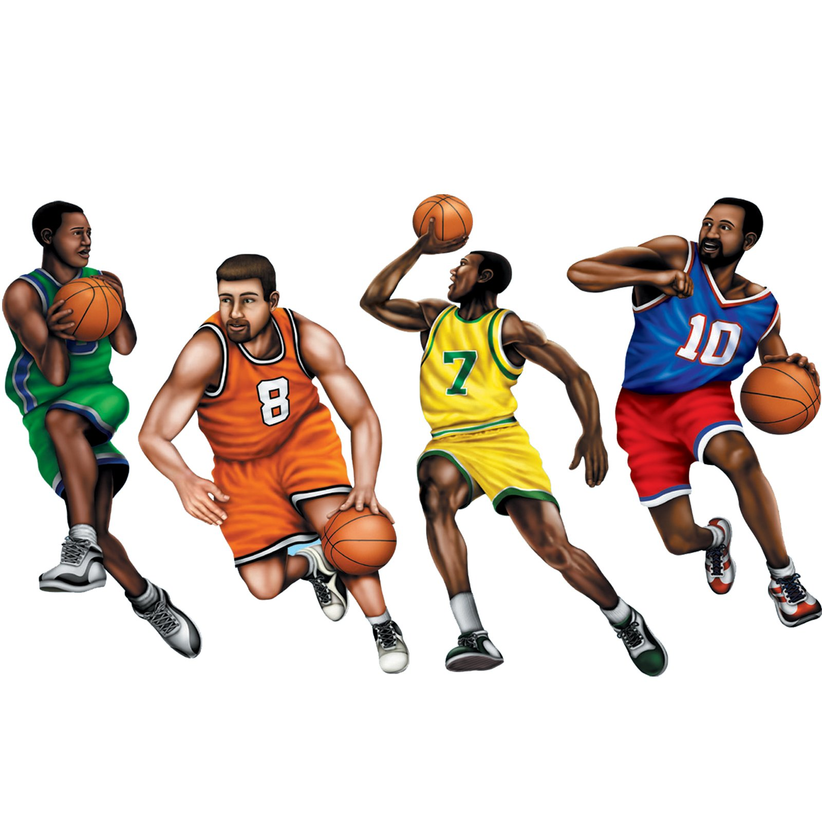 1600x1600 Dunk Basketball Player Silhouette Clipart