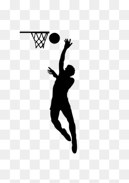 260x367 Basketball Silhouette Png, Vectors, Psd, And Clipart For Free