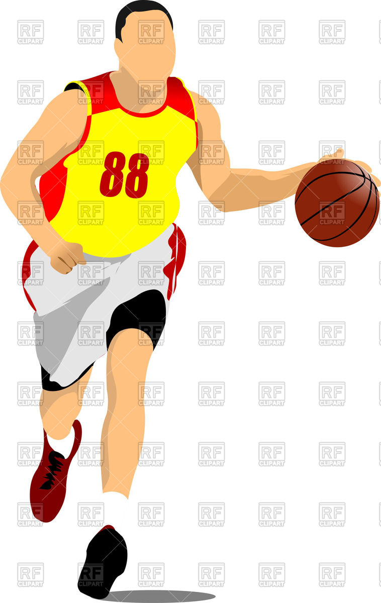 basketball silhouette clip art at getdrawings com free for rh getdrawings com free clip art basketball images free clipart basketball player
