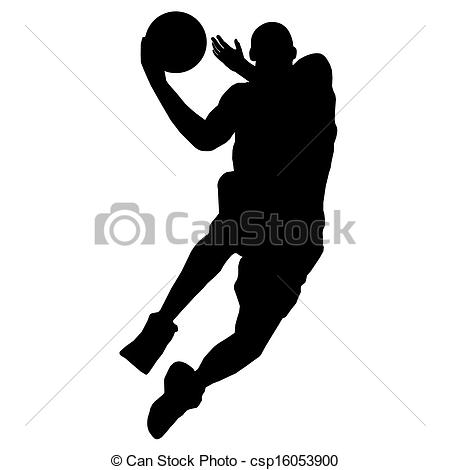 450x470 Basketball Silhouette Vector Clipart Eps Images.