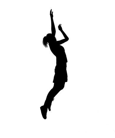 390x470 Girl Basketball Player Clipart Clipart Panda