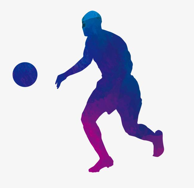 650x630 Playing Basketball Silhouette, Blue, Gradual Change, Movement Png