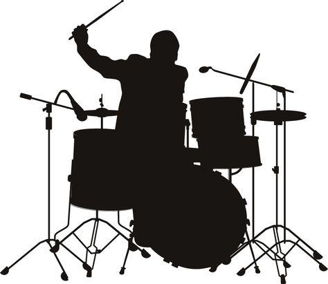 474x411 Drummer Silhouette By Hannah Wilson, Via Music