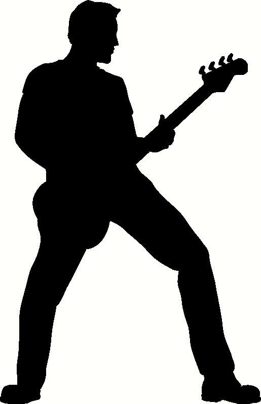 515x798 Free Download Guitar Player Silhouette Clipart For Your Creation