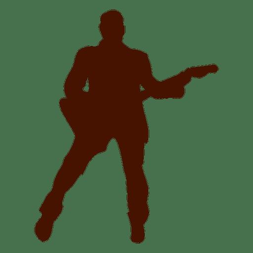 512x512 Bass Music Musician Silhouette