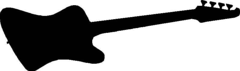800x239 Thunderbird Bass Guitar Sticker,decal,graphics Ebay
