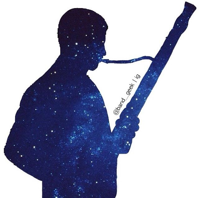 Bassoon Silhouette