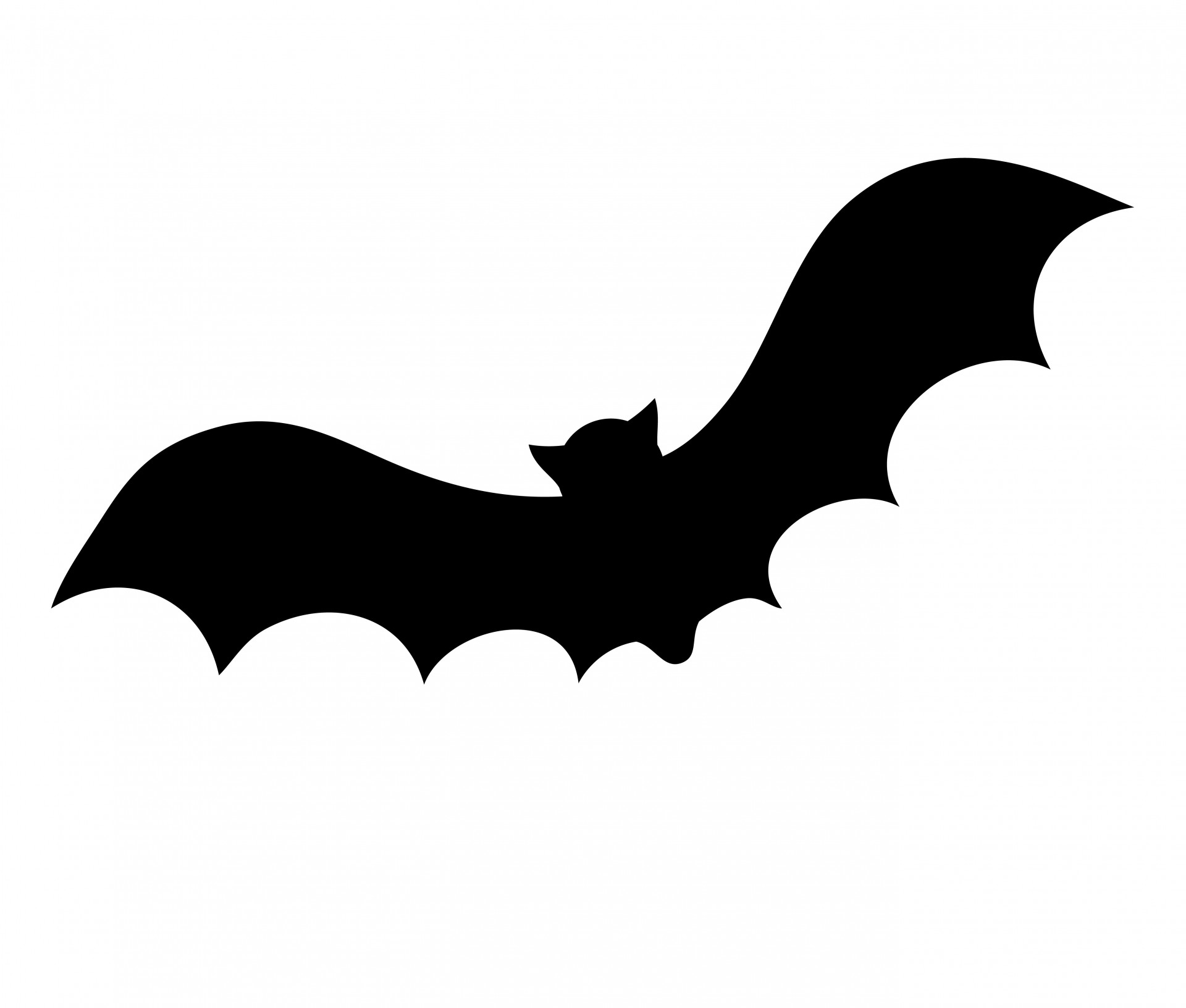 1920x1632 Bat Silhouette For Halloween Free Stock Photo