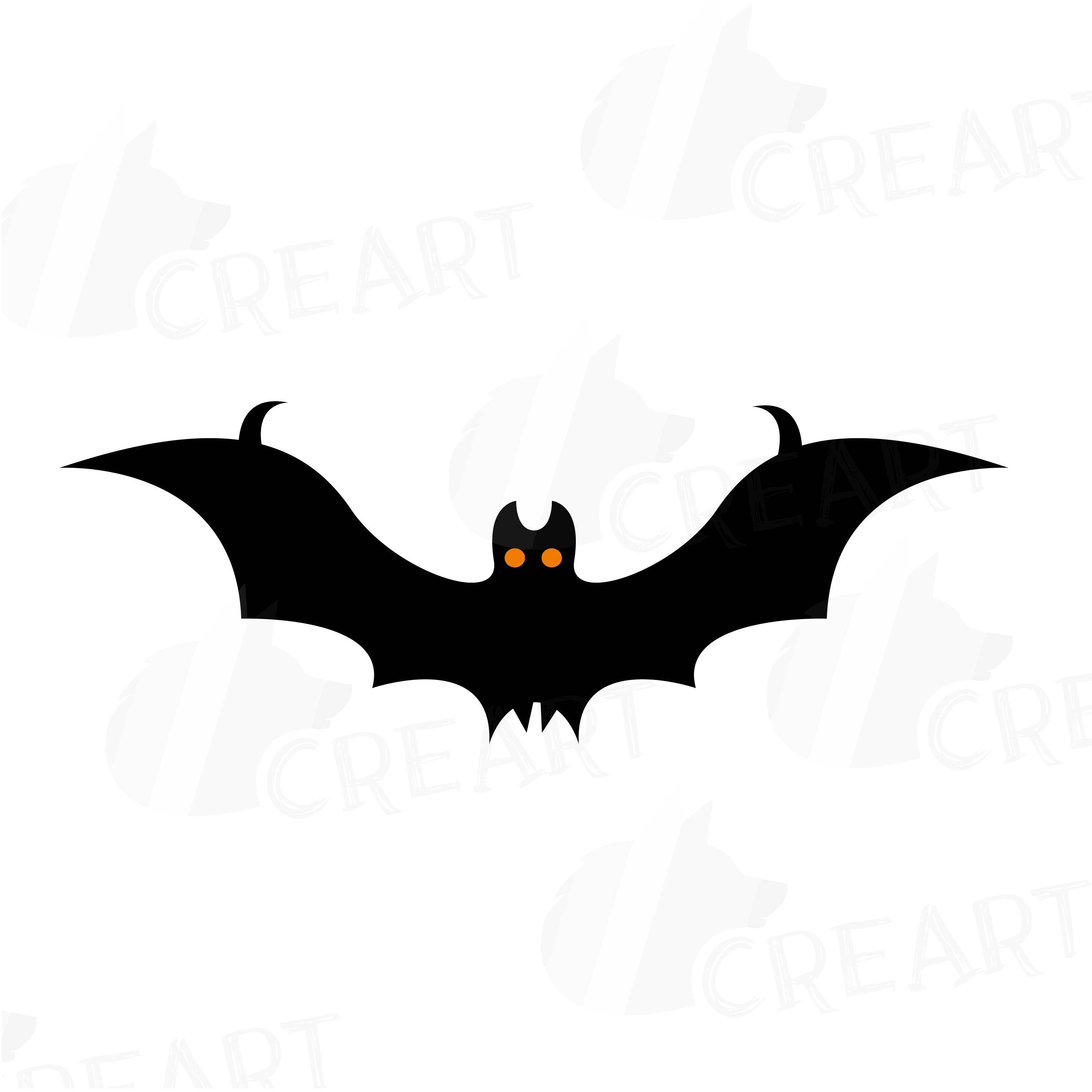 3000x3000 Halloween Bats Silhouettes Clipart Vectors For Commercial