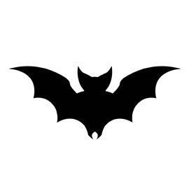 270x270 Set Of Bat Silhouette Baby Quilts Bat Silhouette