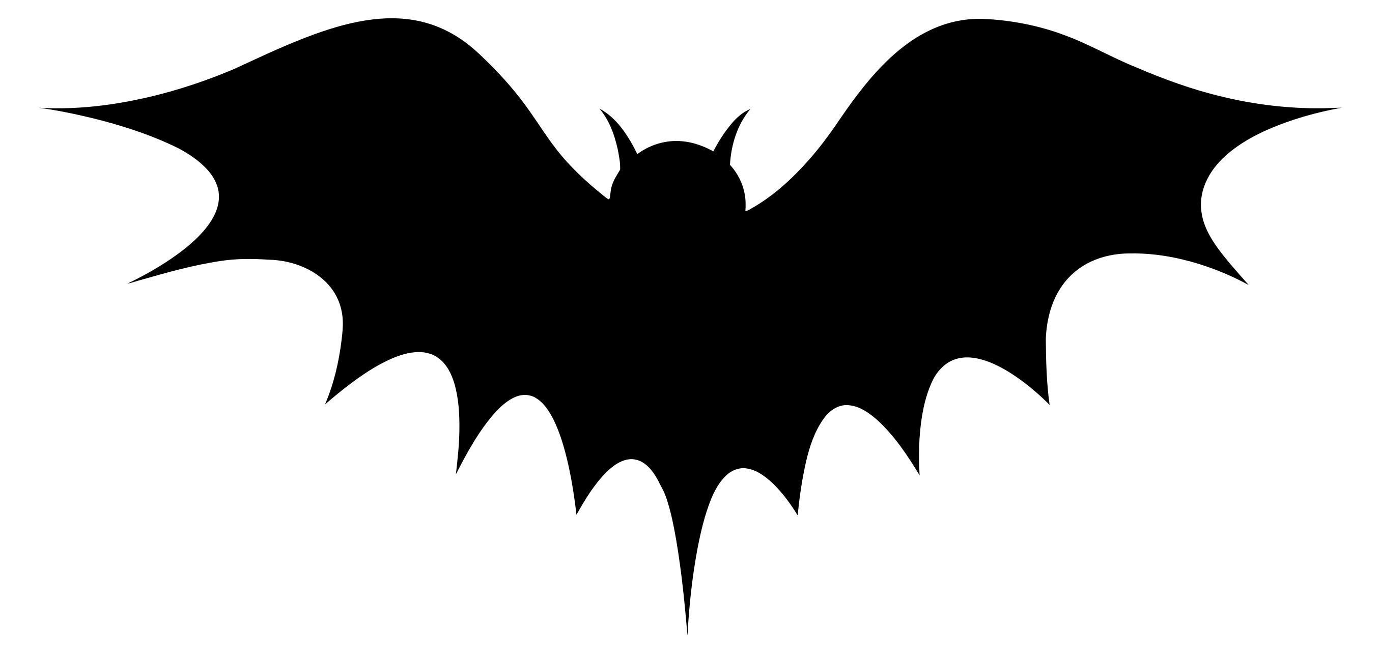 2711x1285 Bat Silhouette Clipart