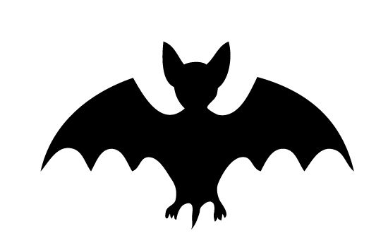 550x354 Bat Silhouette Vector Free Download Silhouette Clip Art