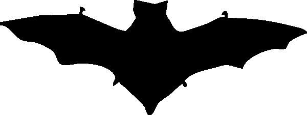 600x226 Bat Silhouette Clip Art Free Vector 4vector