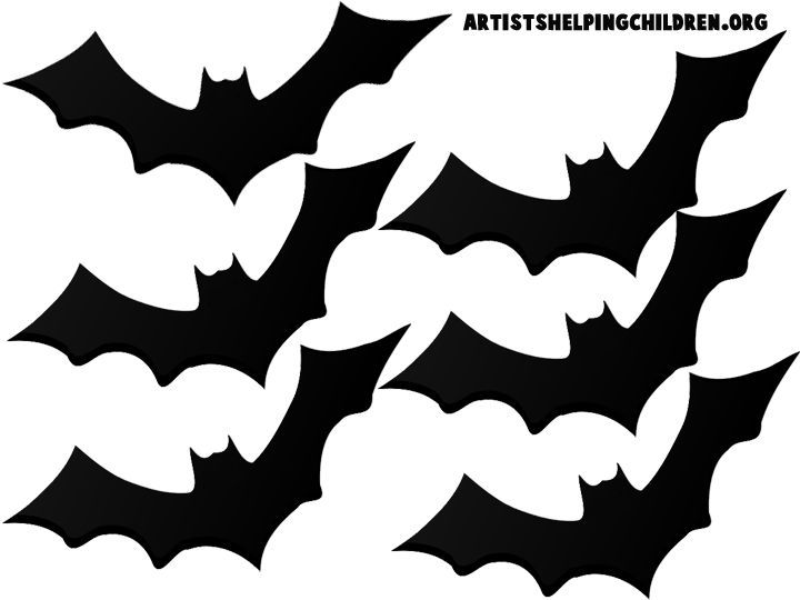 720x540 Image Result For Free Printable Bat Templates For A Halloween