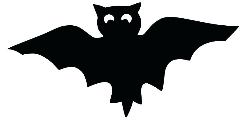 811x393 Printable Full Page Bat Pattern Use The Pattern For Crafts
