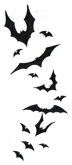 247x562 Bat Swarm Ink Bats, Tattoo And Batman Tattoo