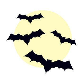 350x350 Glow In The Dark Bat Temporary Tattoo For Creatures Of Night