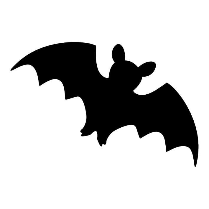 709x709 Bat (105) Glitter Tattoo Stencils Fun Amp Glitter