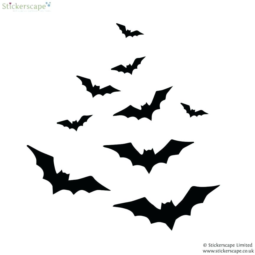863x863 Vector Bat Cartoon Illustration Isolated On White Bat Outline