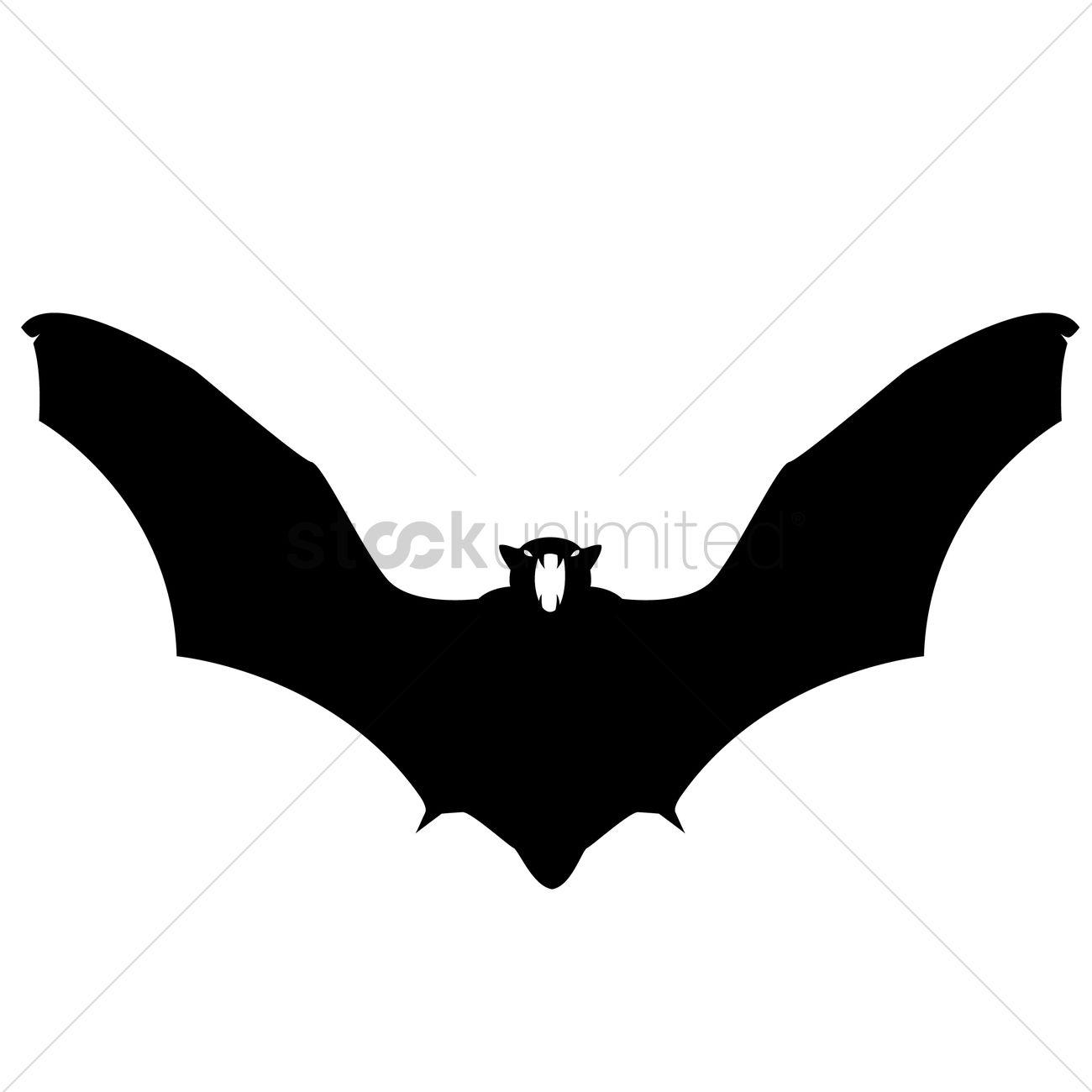 1300x1300 Bat Silhouette Vector Image