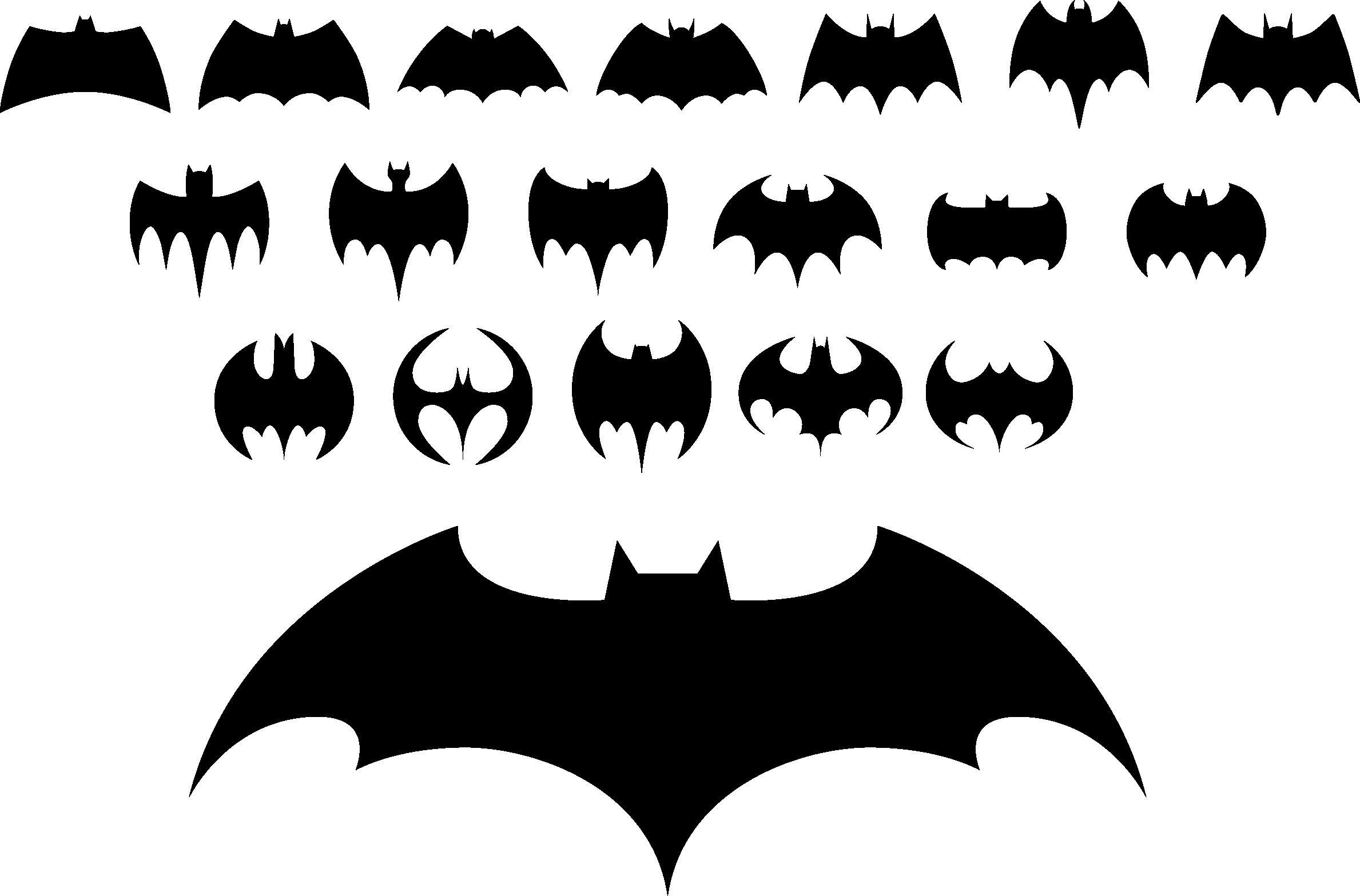 2378x1567 Batman Logo Clip Art