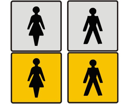 Bathroom Silhouette At GetDrawingscom Free For Personal Use - Male bathroom sign