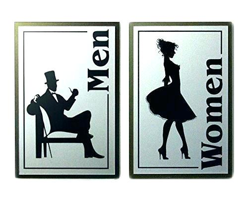500x407 Vintage Restroom Sign S Wo Vintage Lighted Restroom Sign Vintage