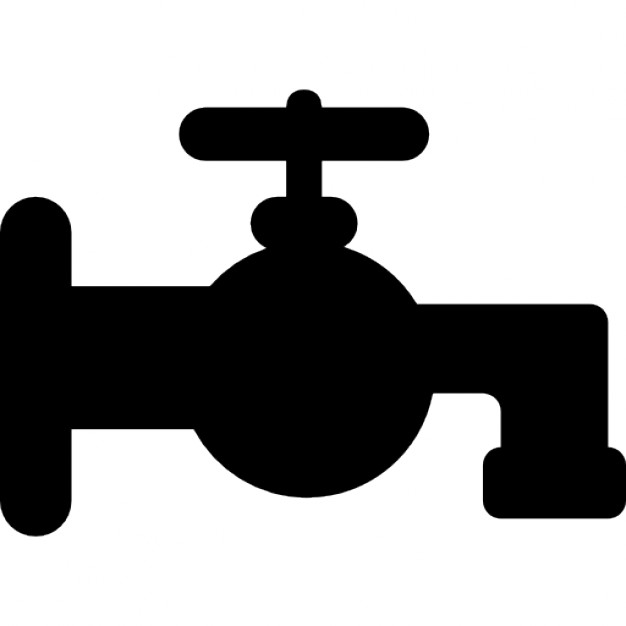 626x626 Bathroom Tap Silhouette Icons Free Download