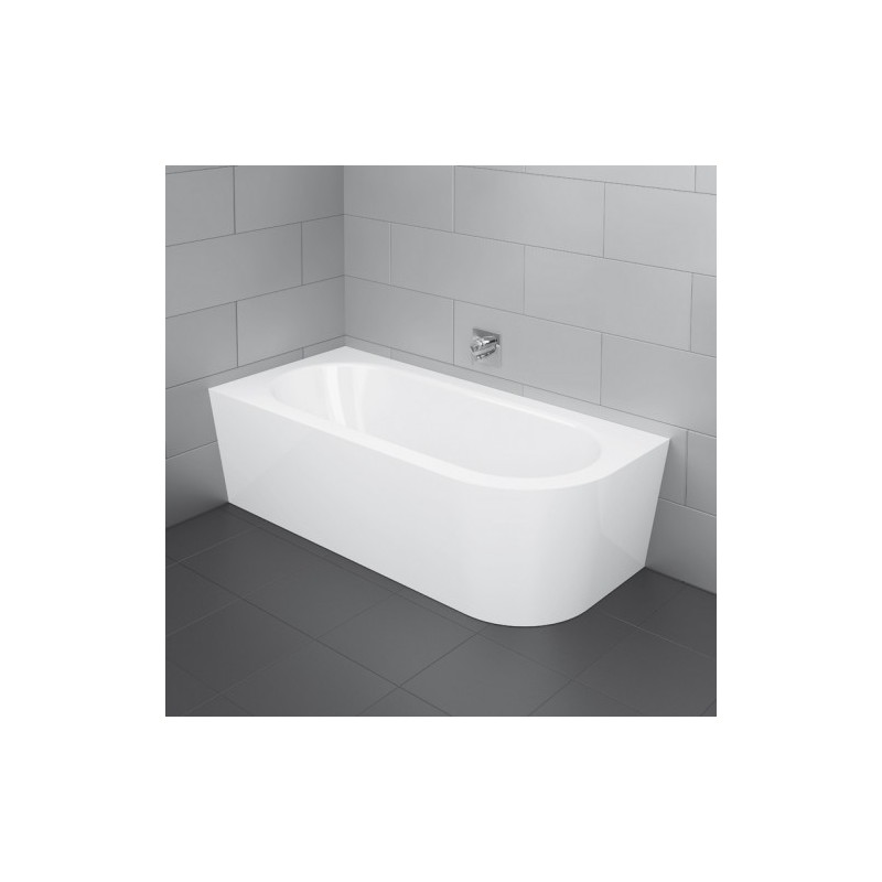 800x800 Bette Starlet Iv Silhouette 1750 X 800mm Double Ended White Steel