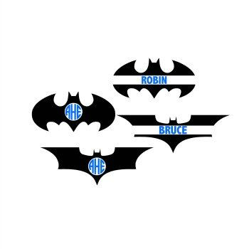 350x350 Batman Monogram Svg Batman Svg Batman Cutting File Superhero Svg