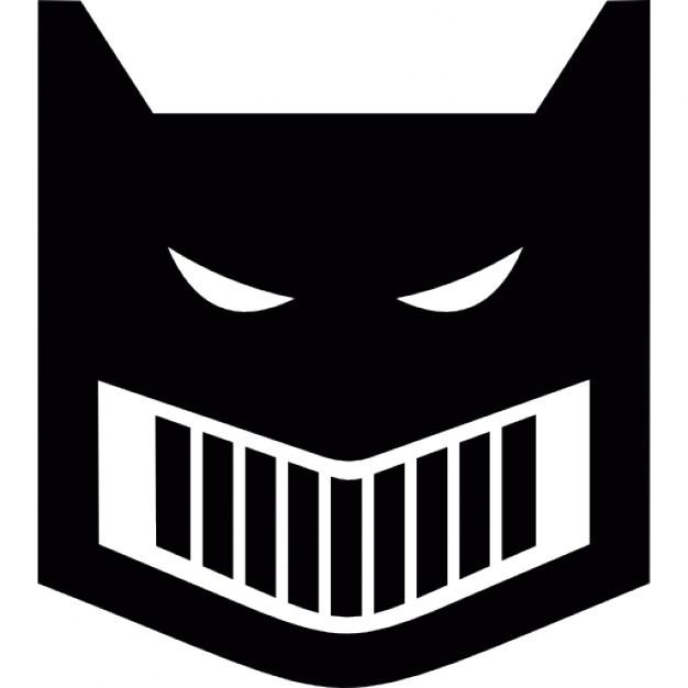 626x626 Batman Logo Silhouette Icons Free Download