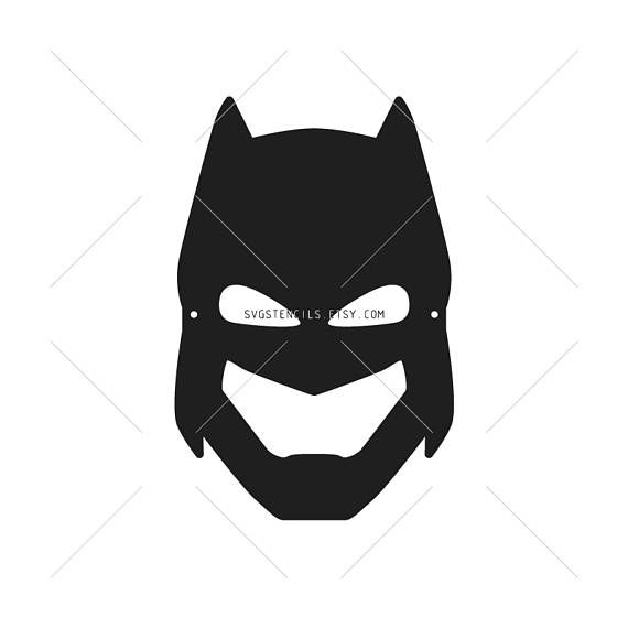 570x570 Svg Batman Mask Printable For Kids Eps Cut Files Svg Stencils