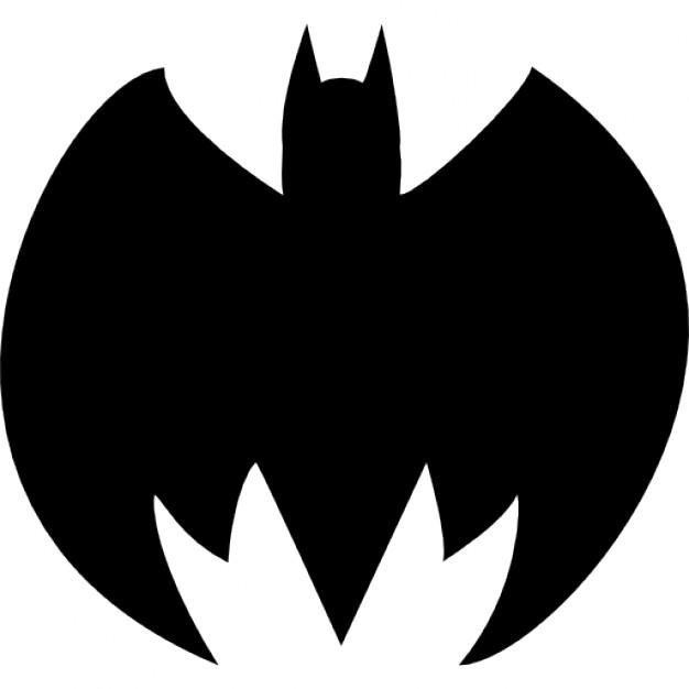626x626 Batman Silhouette Icons Free Download