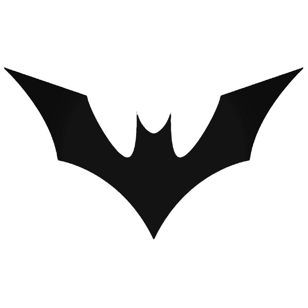 1000x1000 Logo Batman Silhouette Decal