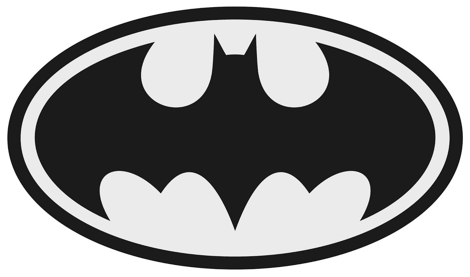 batman logo silhouette at getdrawings com free for personal use rh getdrawings com printable batman logo stencil printable batman logo invitations free