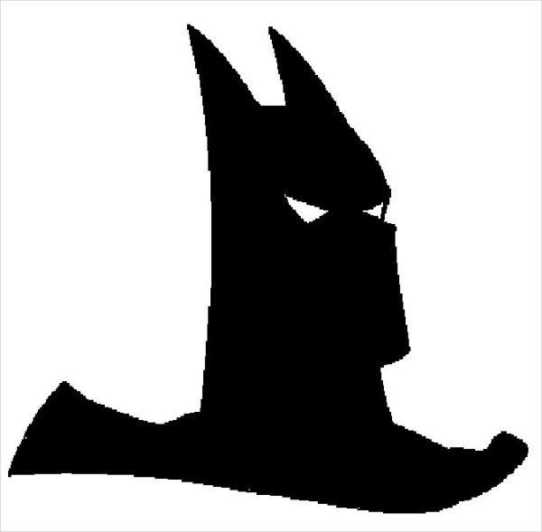 600x589 Batman Silhouettes Free Amp Premium Templates