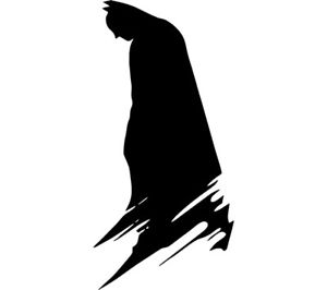 300x266 Batman Silhouette Vinyl Decal Sticker Dc Comics Wall Car Truck