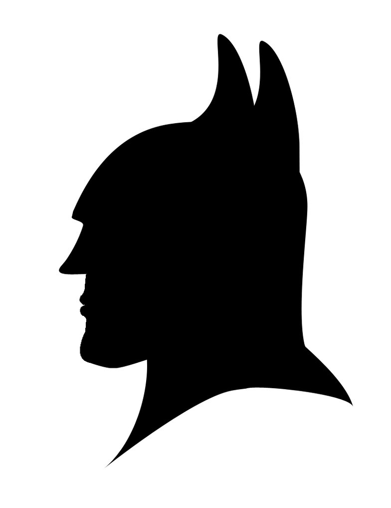 784x1018 Batman Silhouette By Icedragon529