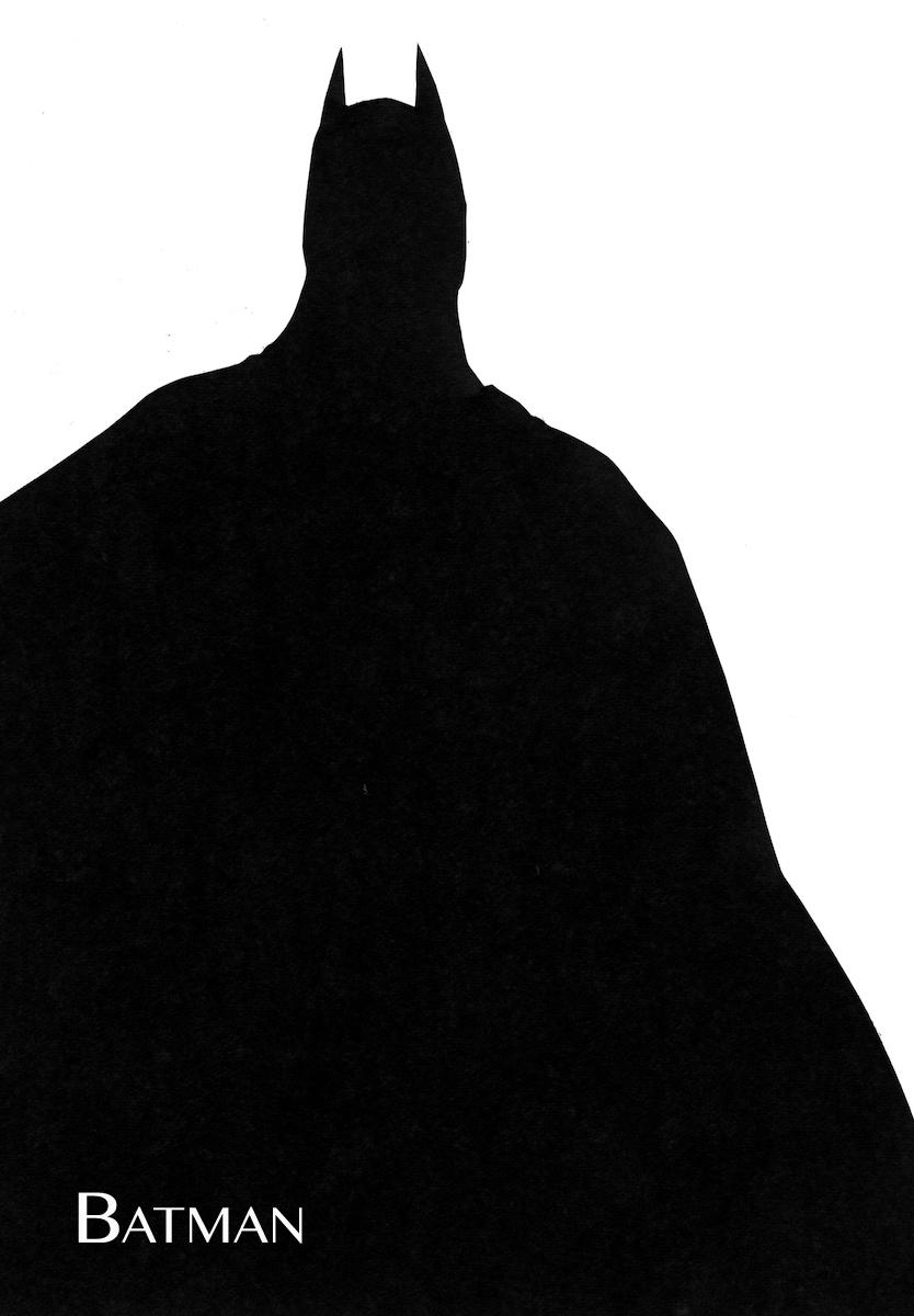 834x1200 Batman Silhouette Art Therapy Batman, Silhouettes