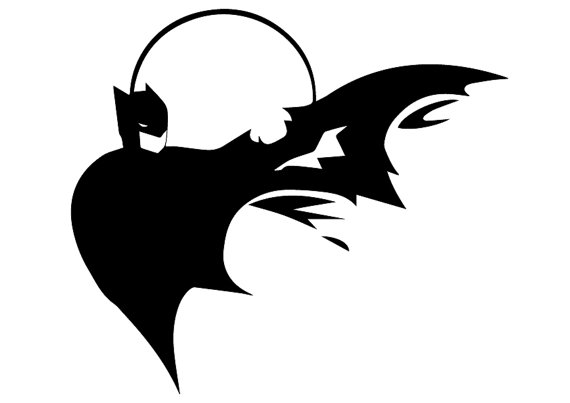 570x403 Batman Svg, Batman Eps, Batman Instant Download, Batman Silhouette