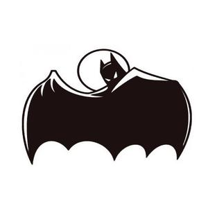 300x300 Animated Batman Silhouette Vinyl Decal Sticker Tacustomgraphix