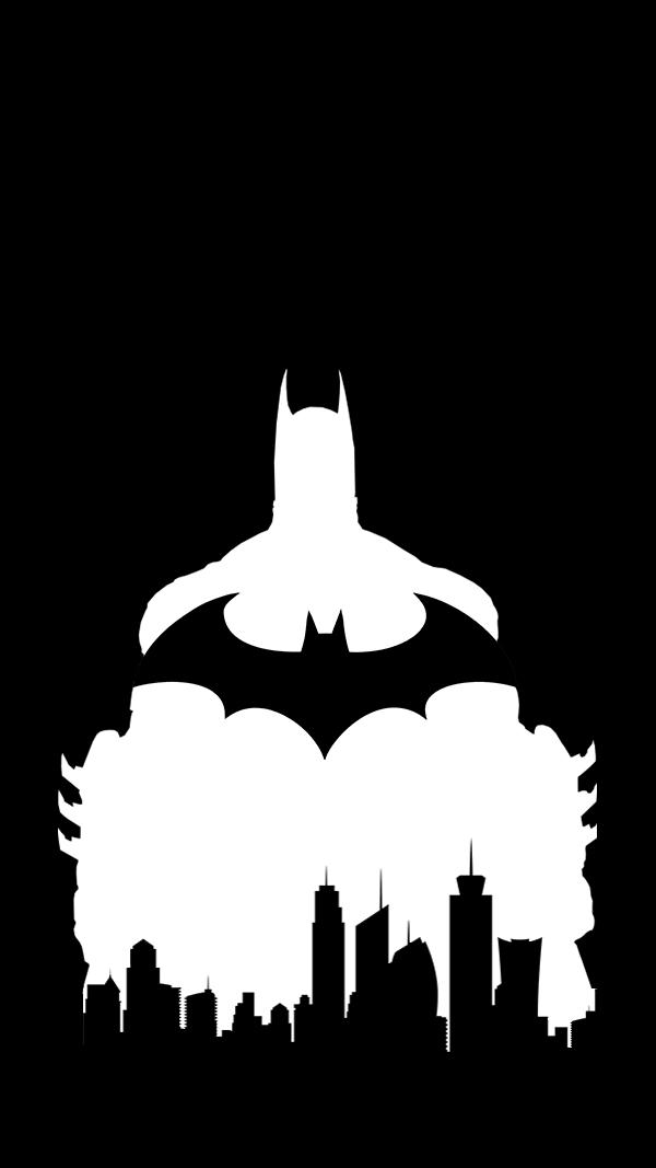 600x1067 Batman Silhouette (Larger Bat Logo)