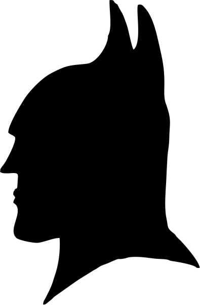 395x601 Batman Silhouette