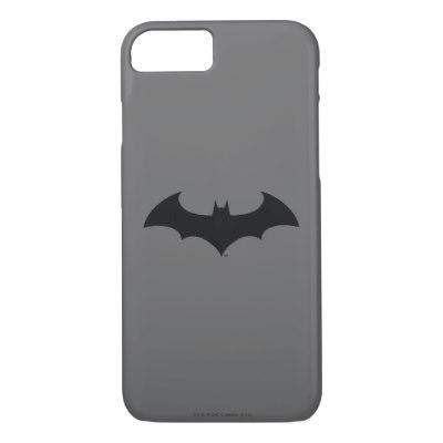 400x400 Batman Symbol Simple Bat Silhouette Logo Classic Round Sticker