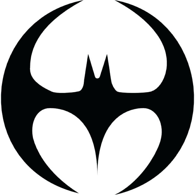 picture relating to Printable Batman Symbol referred to as Batman Brand Silhouette at  Absolutely free for