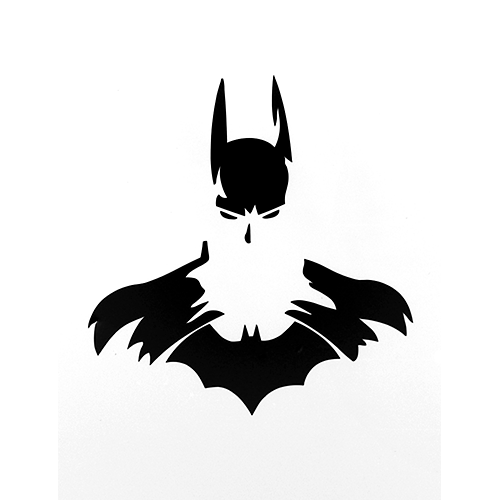 500x500 Batman Logo Laptop Car Truck Vinyl Decal Window Sticker Pv173